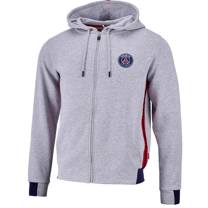 Sweat capuche zippé PSG  - Collection officielle PARIS SAINT GERMAIN