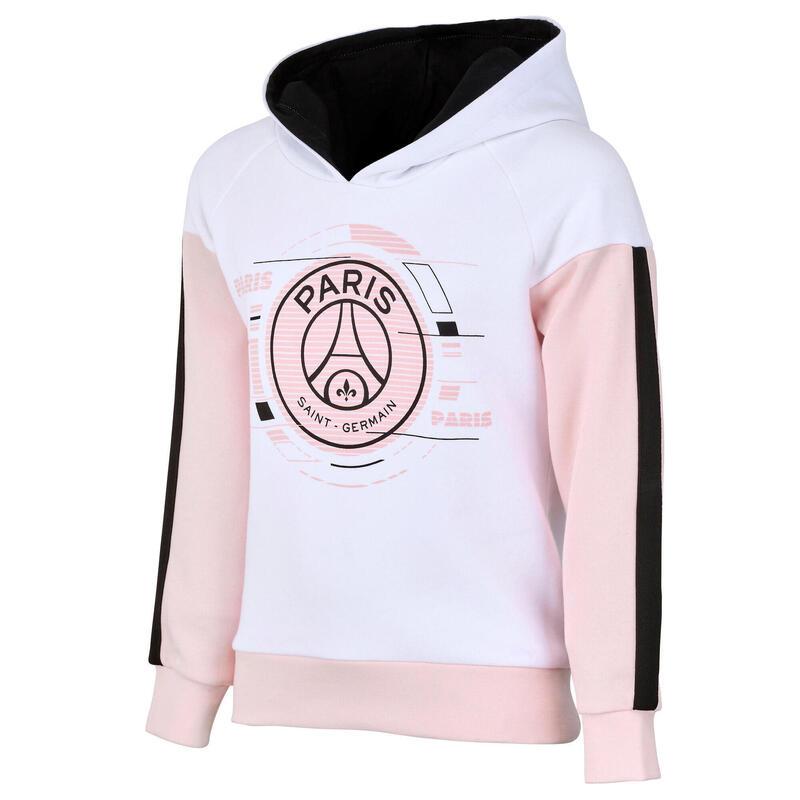 Sweat capuche enfant fille PSG - Collection officielle PARIS SAINT GERMAIN