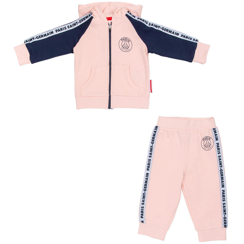 Ensemble jogging bébé fille PSG - Collection officielle PARIS SAINT GERMAIN