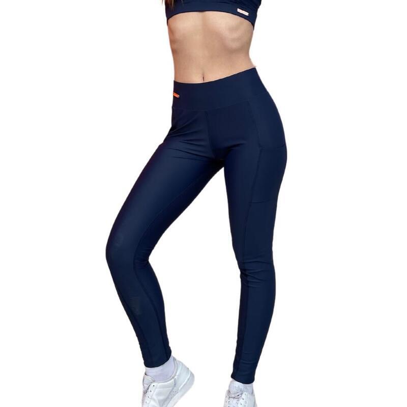 Legging de sport femme Bleu intense