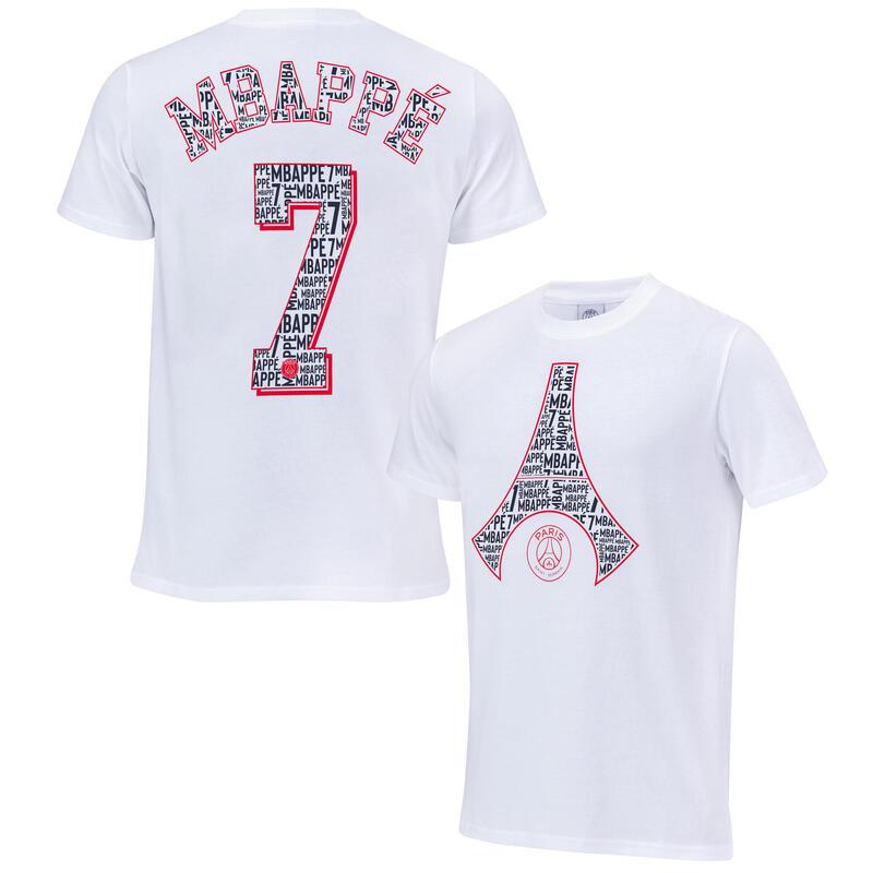 T-shirt enfant Kylian MBAPPE PSG - Collection officielle PARIS SAINT GERMAIN