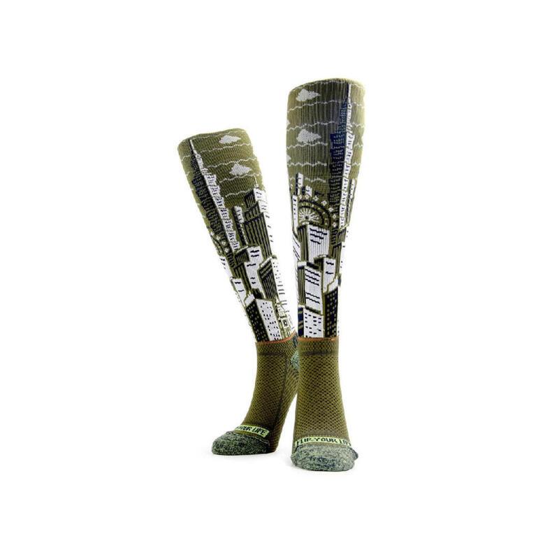 FLIPPOS Compression Socks - Concrete Jungle