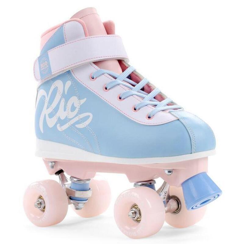 Roller Quad Milkshake Bleu Ciel