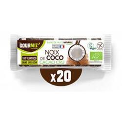 Barres noix de coco - cacao cru x20