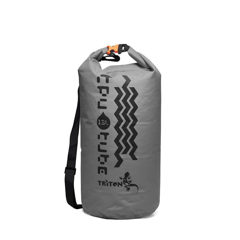 防水袋連肩帶TPU Tube 13 Grey