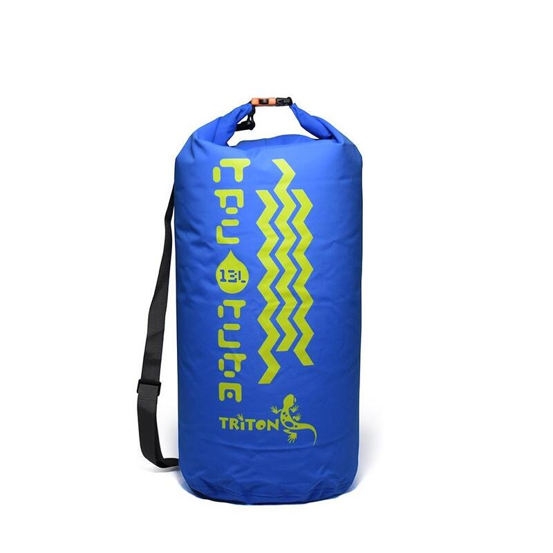 防水袋連肩帶TPU Tube 13 Blue