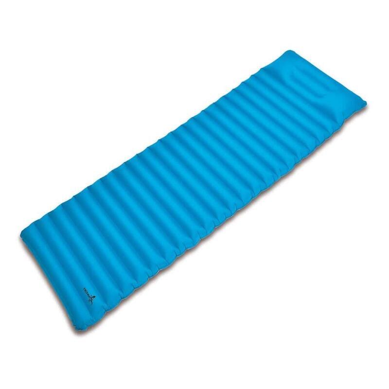特厚單人充氣地蓆UL Solo Mat Blue