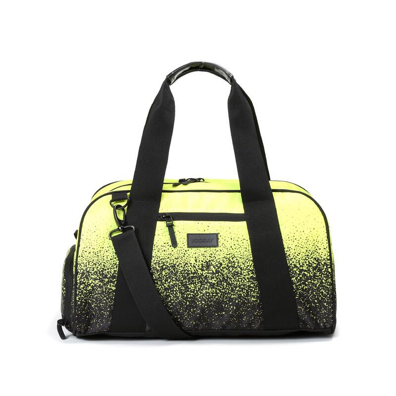 Burner Gym-39cm/23L-Sac de sport compact+poche à chaussures (Neon Yellow Splash)