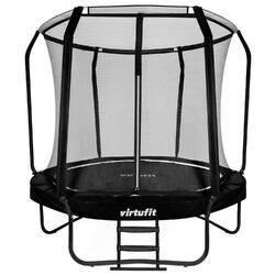 Trampoline VirtuFit Premium avec Filet de Sécurité - Noir - 305 cm