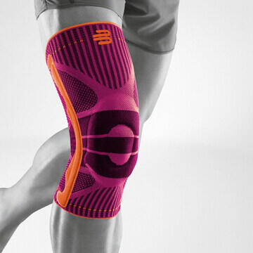 Sports Knee Support - PINK