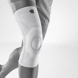 Sports Knee Support - ALL WHITE