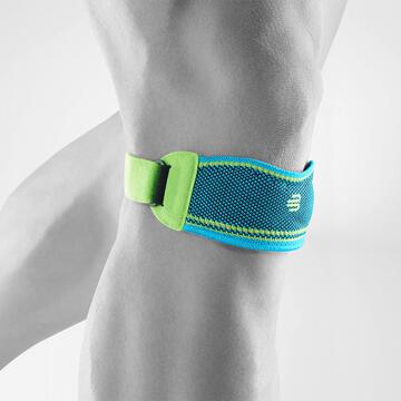 運動護膝帶 - 湖藍色