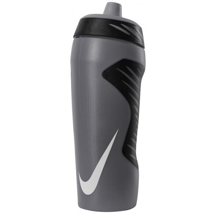 NIKE WATER BOTTLE HYPERFUEL SQUEEZE 18oz-ANTHRA/WHITE