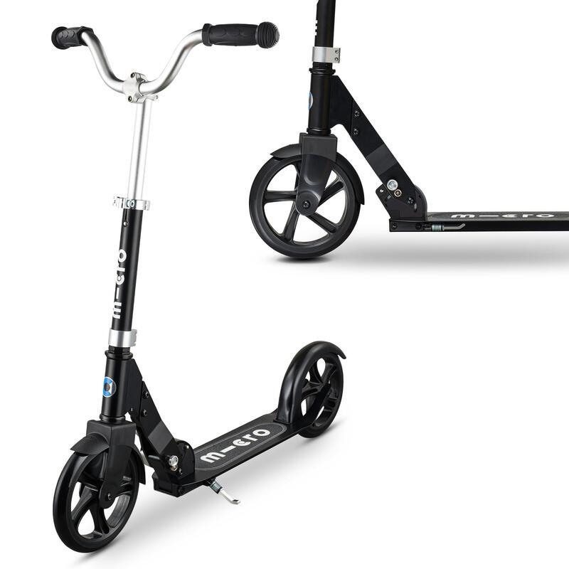 Micro Cruiser Scooter BLACK