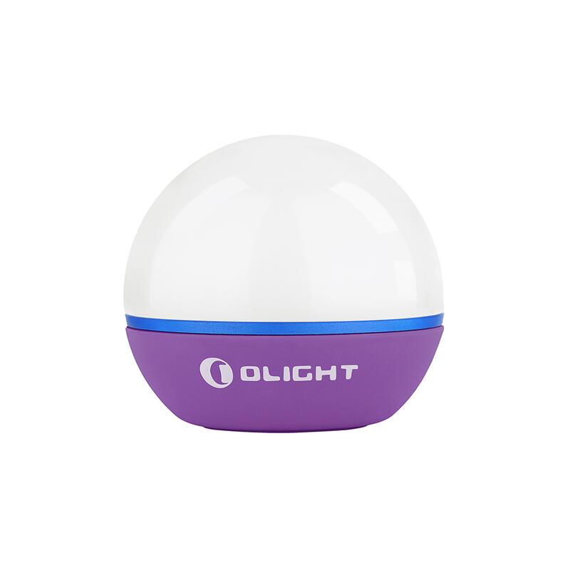Luz LED de camping Obulb 55 lum Edición Púrpura Olight
