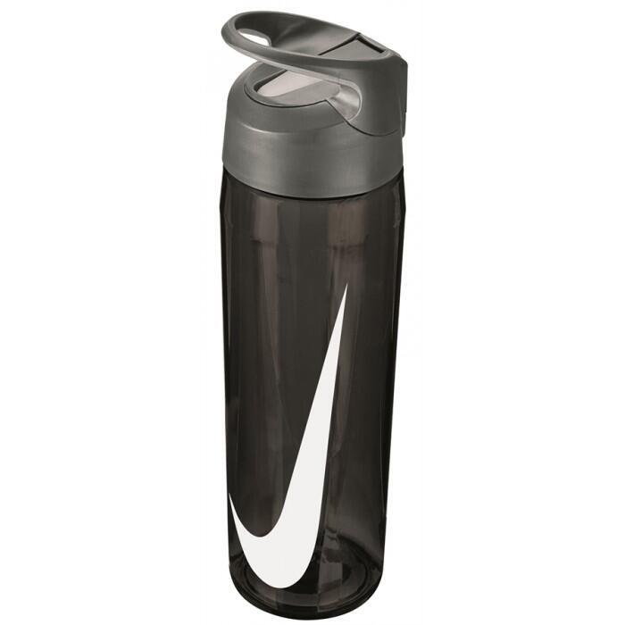 NIKE WATER BOTTLE HYPERCHARGE STRAW 24oz-ANTHRA/WHITE