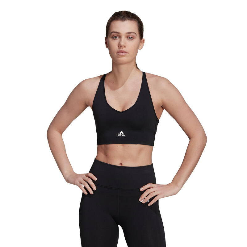 Brassière femme adidas Aeroknit Designed 2 Move Seamless