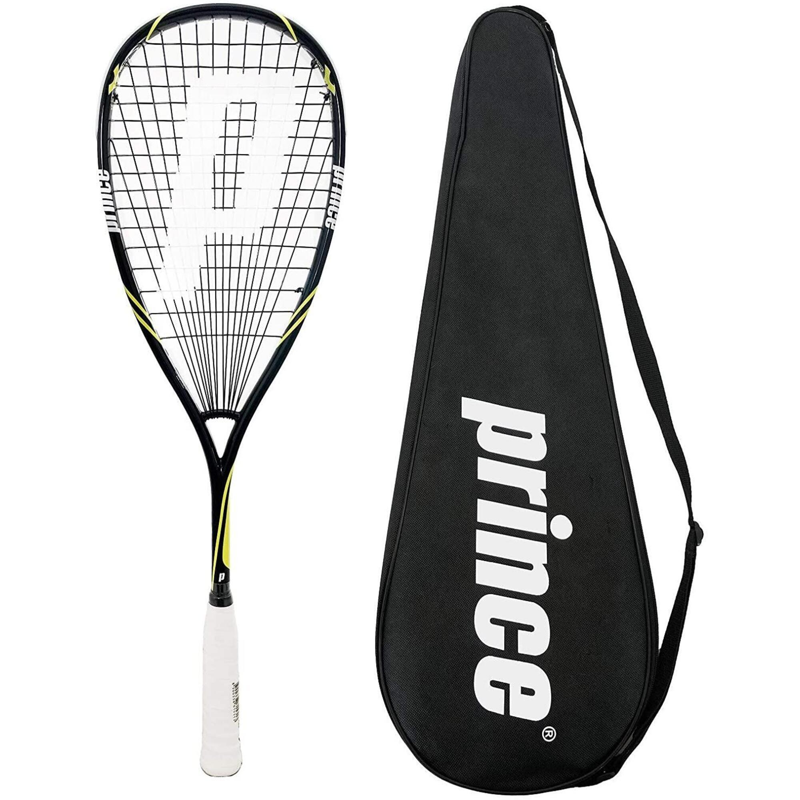 Prince Pro Beast 650 POWERBITE Squash Racket , inc Protective Cover