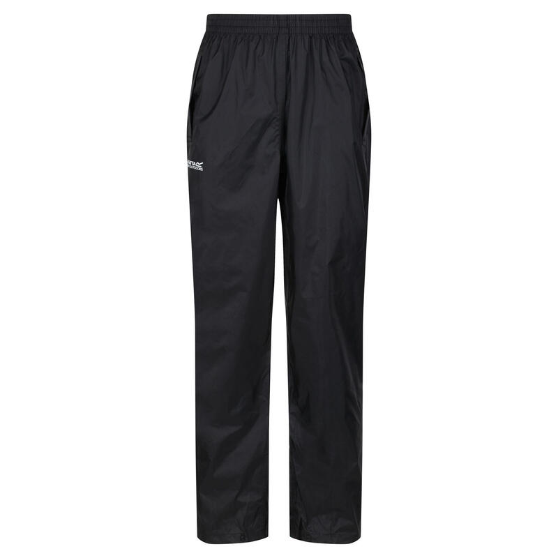 Great Outdoors Mens Classic Pack It Waterproof Overtrousers (Black)