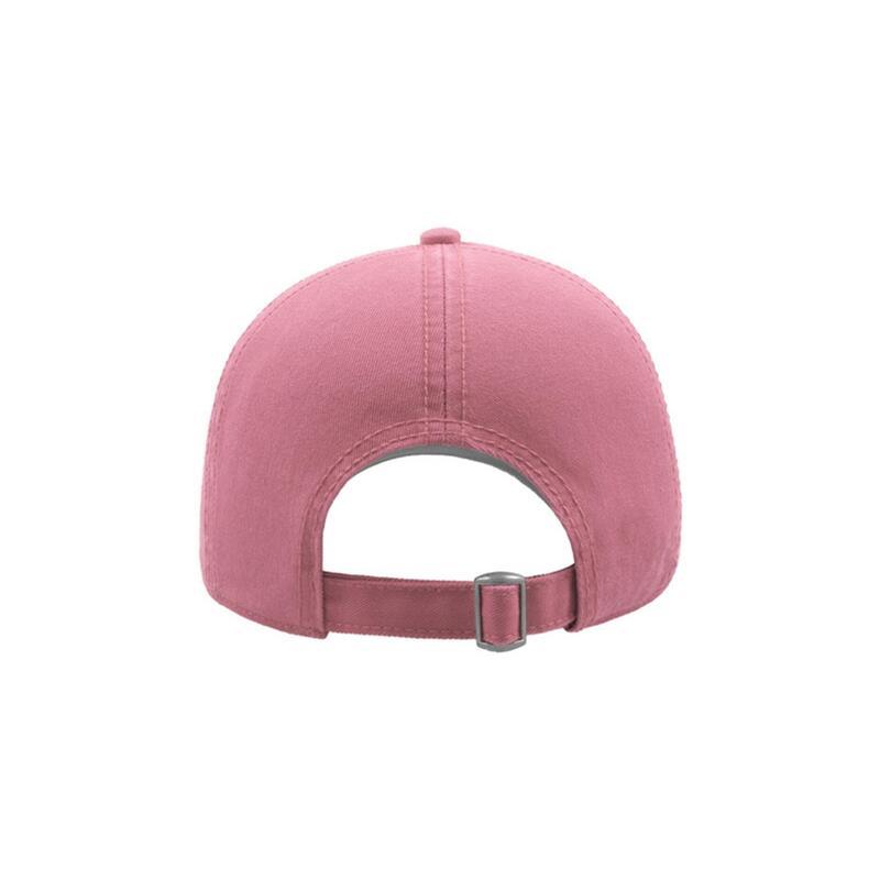 Action 6 Panel Chino Baseball Cap (Pack of 2) (Pink)