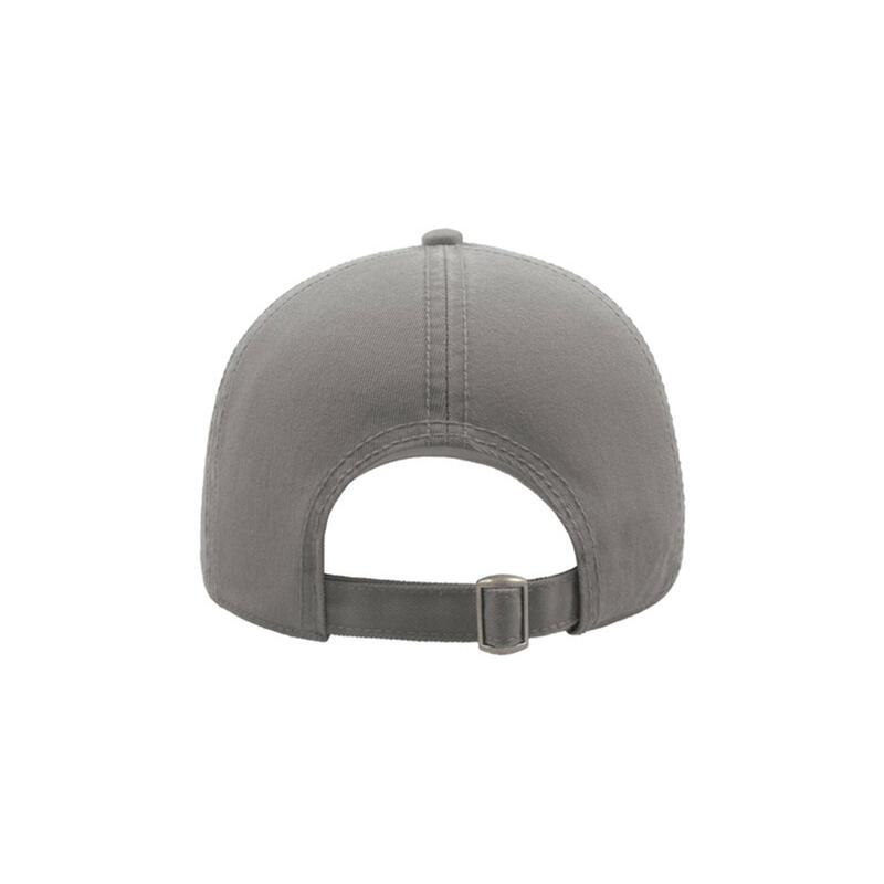 Action 6 Panel Chino Baseball Cap (Pack of 2) (Grey)