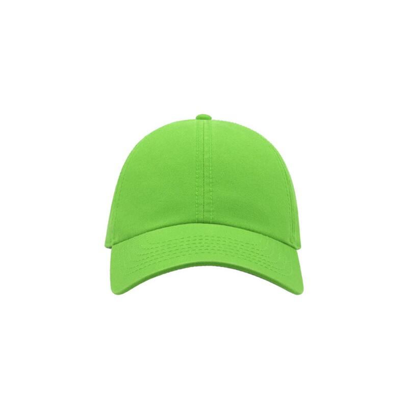 Action 6 Panel Chino Baseball Cap (Pack of 2) (Olive)