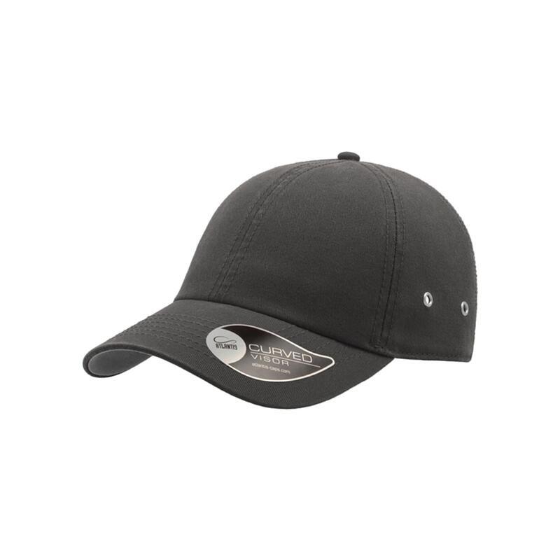 Action 6 Panel Chino Baseball Cap (Pack of 2) (Dark Grey)