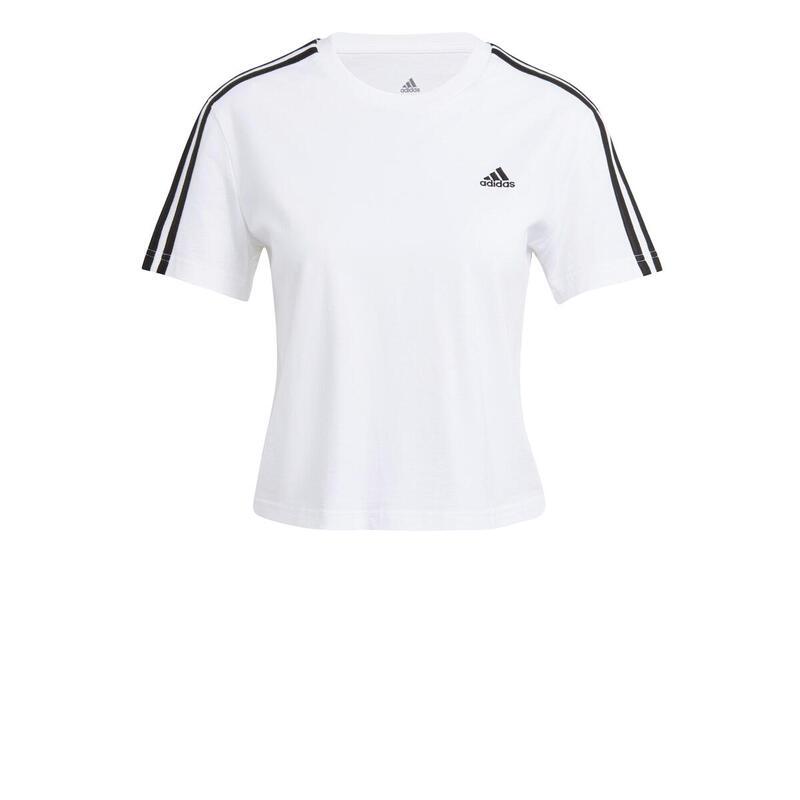 T-shirt court femme adidas Essentials Loose 3-Bandes