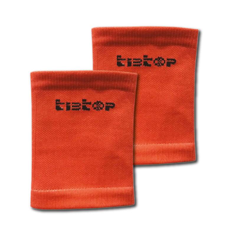 Soportes para espinilleras TIBTOP® naranja
