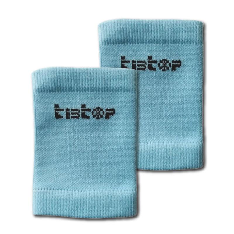 Soportes para espinilleras TIBTOP® azul claro