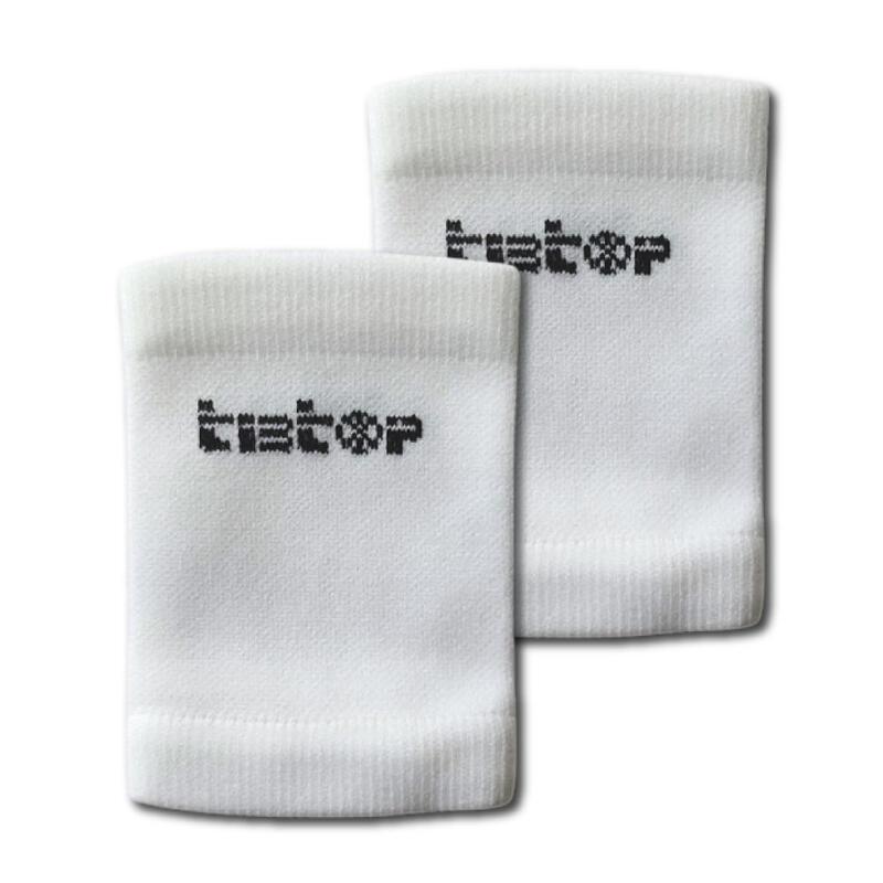 Soportes para espinilleras TIBTOP® Blanco