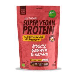 Super Vegan Protein Red Berries e Goji com Digezyme