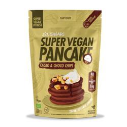 Super Vegan Pancake Cacau e Pepitas de Chocolate