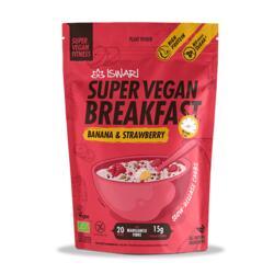 Super Vegan Breakfast Banana e Morango