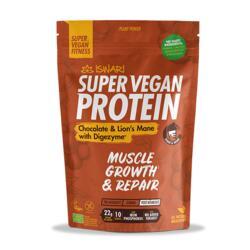 Super Vegan Protein Chocolate e Lions Mane com Digezyme