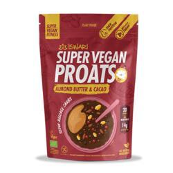 Super Vegan Proats Manteiga de Amendoa e Cacau