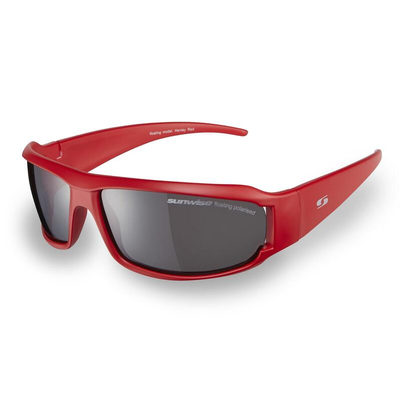 Sunwise Henley Sunglasses,Red