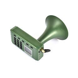 Hunting Caller PNI 380 met afstandsbediening, 1800mAh batterij, 120dB speaker, 1