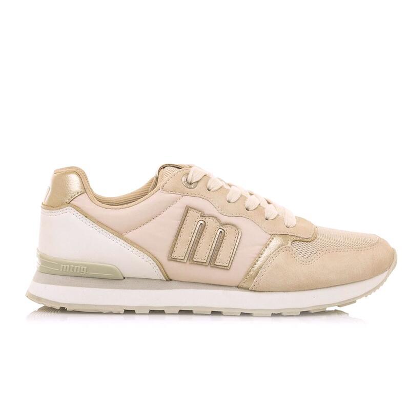 Sneaker Mujer MTNG JOGGO beige