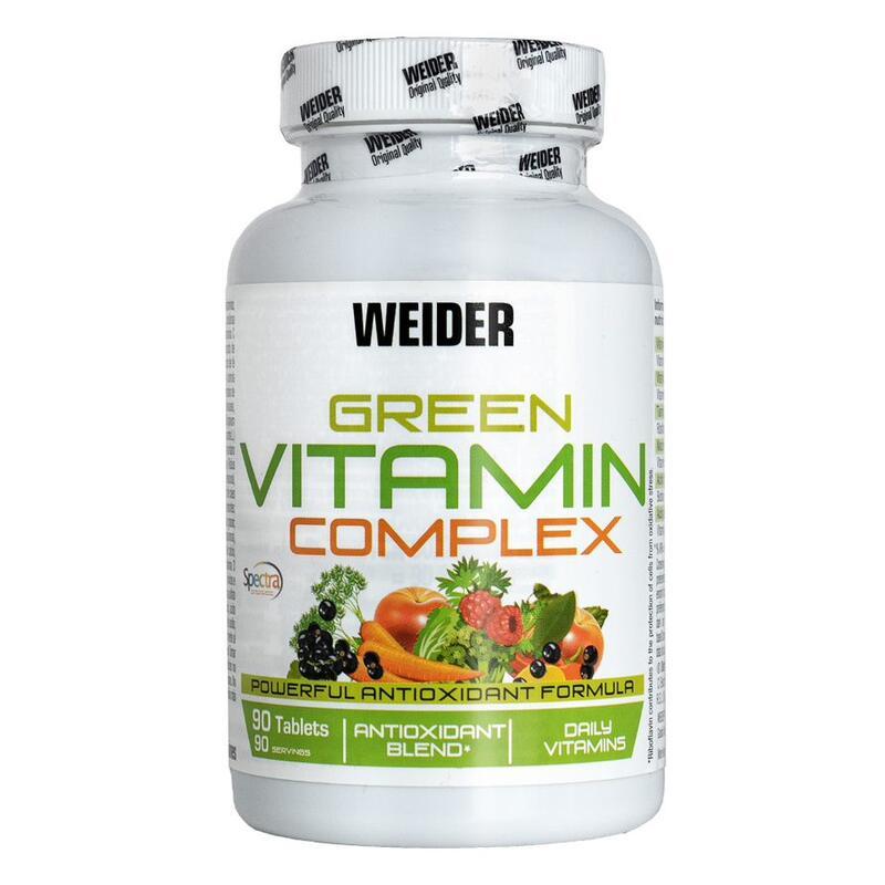Weider Green Vitamin Complex 90 Unidades.