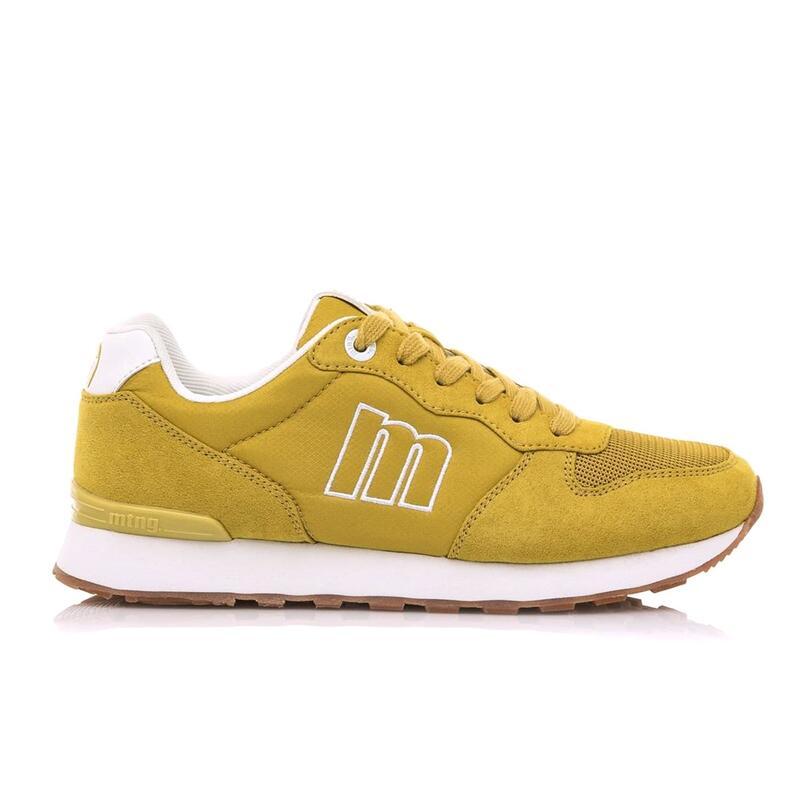 Sneaker Mujer MTNG JOGGO amarillo