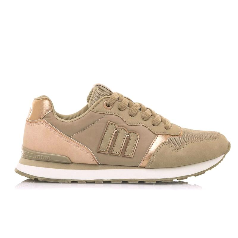Sneaker Mujer MTNG JOGGO taupe