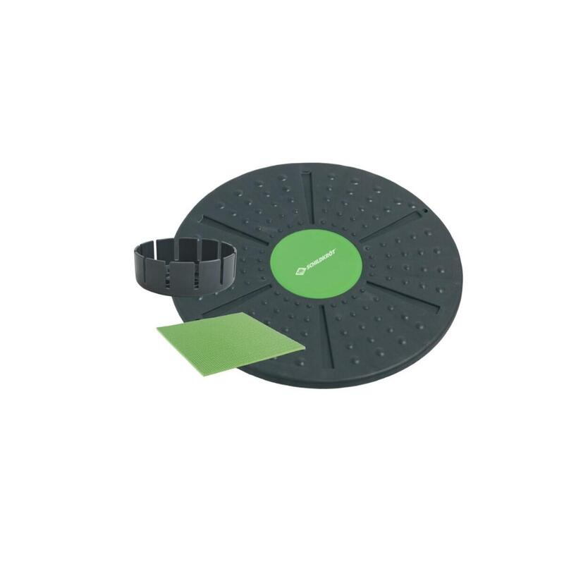 Schildkrot Fitness Anthracite & Lime Green Balance Board