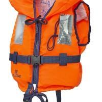 Gilet de sauvetage enfant Typhon 100 newtons Orange - 20 à 30 kg