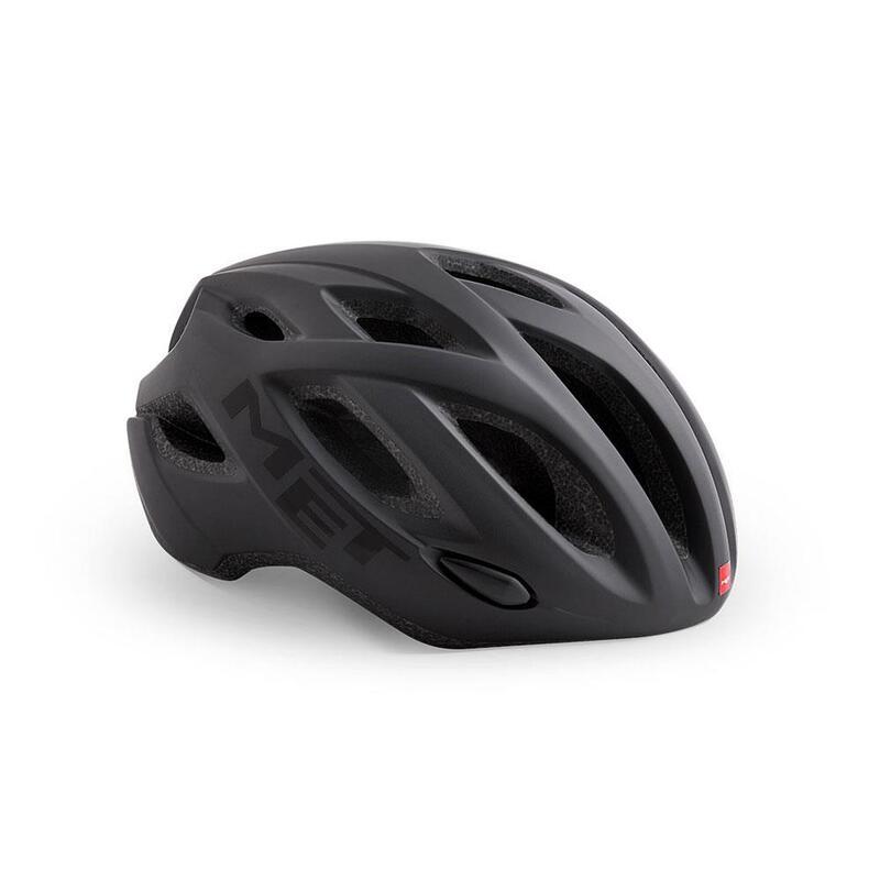Met Idolo Road Helmet Black   Matt