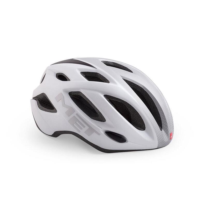 Met Idolo Road Helmet White Shaded Grey   Matt
