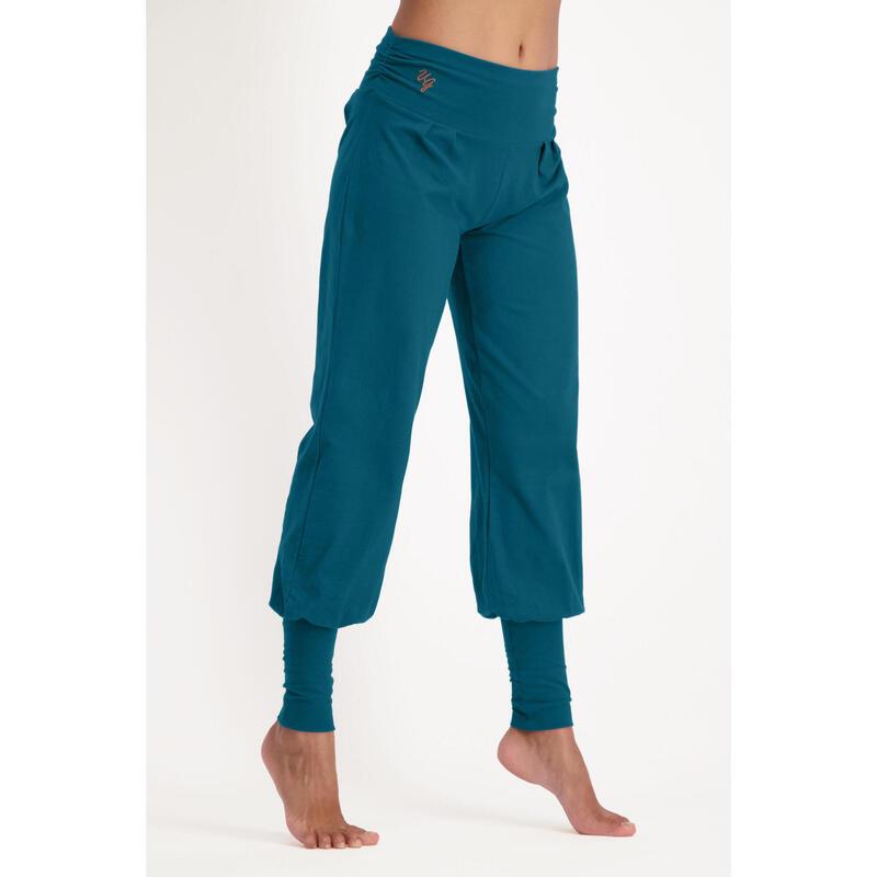 Dakini - Pantalon Aladdin ample confortable  - Lagoon - Bleu pétrole