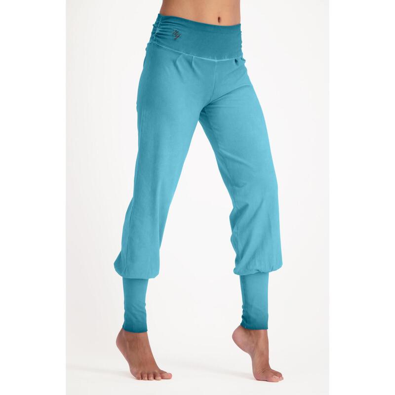 Dakini - Pantalon Aladdin ample confortable  - Off Lagoon - Blue