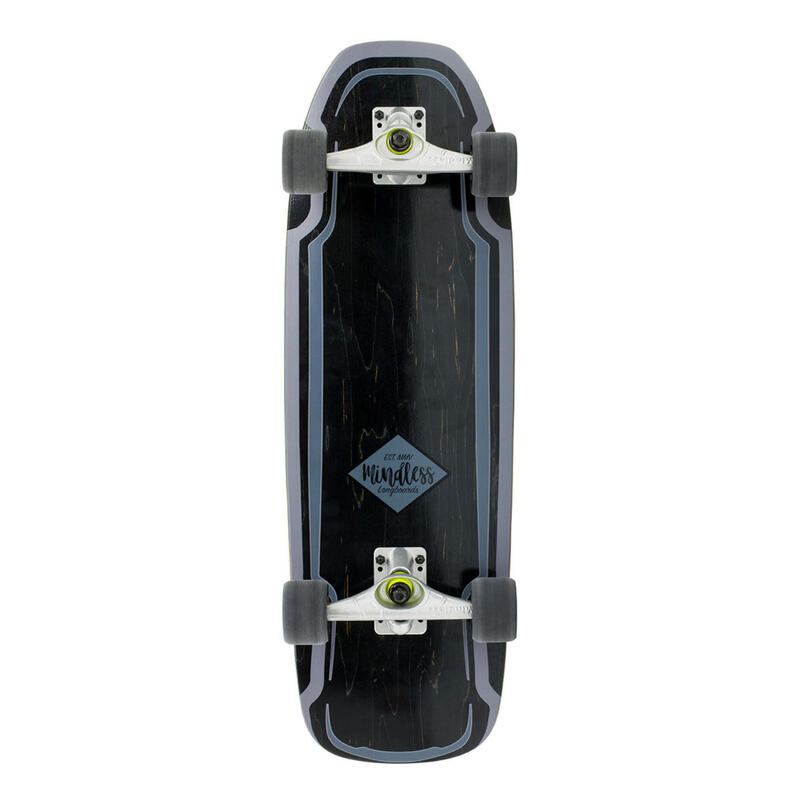 "Longboard Mindless Surf Skate Noir 30"""