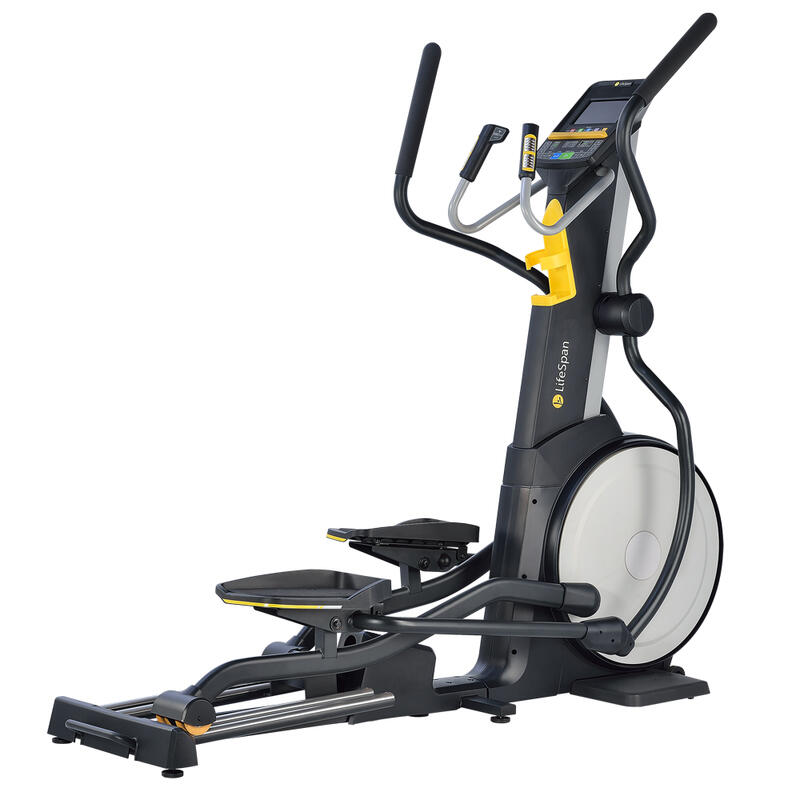 Elliptical Cross trainer E3i+, adjustable incline, twin rails for more stability